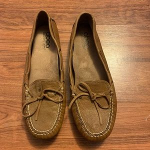 ABEO Marilee Neutral leather moccasin